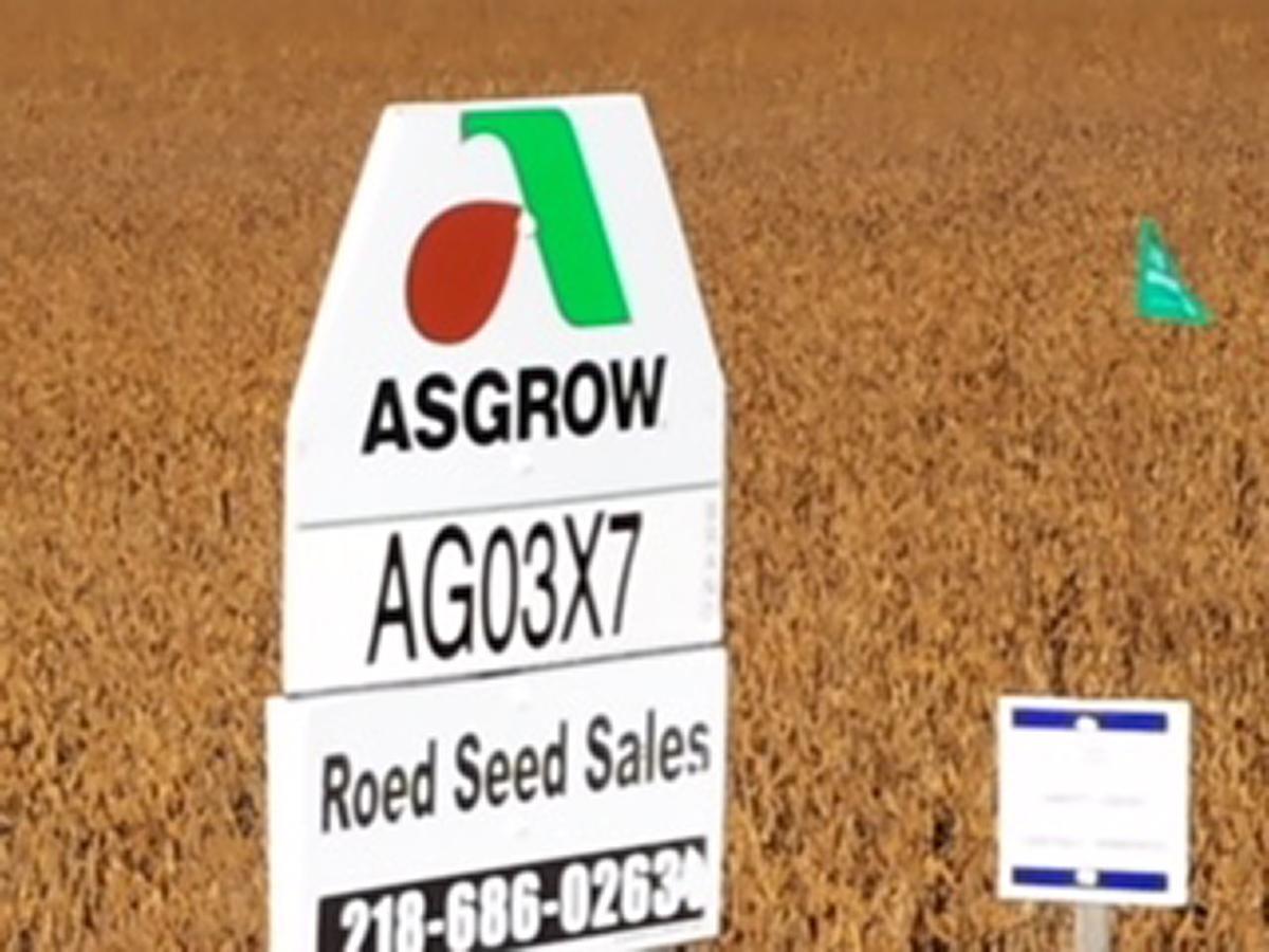 Asgrow Sign